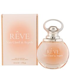 Reve de Van Cleef & Arpels EDP 50ml Reve de Van Cleef & Arpels es una fragancia de la familia olfativa Floral Frutal para Mujeres. Reve se lanzó en 2013. Las Notas de Salida son pera y neroli; las Notas de Corazón son osmanto (olivo oloroso), azucena y peonía; las Notas de Fondo son sándalo y ámbar.