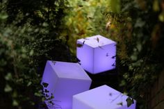 how to light your garden? lamp cubrick nunoni