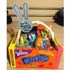 Easter basket for girlfriendboyfriend im so hoppy youre in my easter basket for the boyfriend negle Gallery