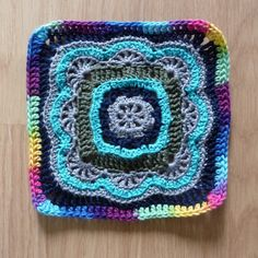 Ravelry: Project Gallery for Moroccan Tile Afghan, Pillow pattern by Nancy Fuller