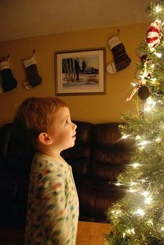 Christmas through the eyes of a child.