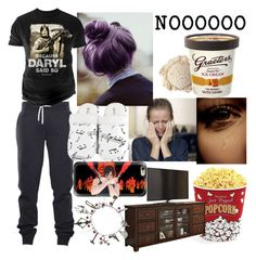 """""""the Walking Dead season finale"""" by dontpanicjustdance ❤ liked on Polyvore featuring Changes, Leisureland, Casetify and West Bend"""
