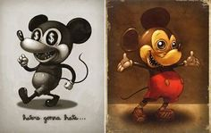 mickey mouse evil - Google Search