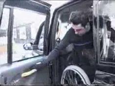 Celebrity Wheelchair Challenge - YouTube