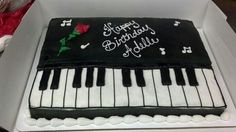 1000+ images about Piano themed cakes on Pinterest Piano ...