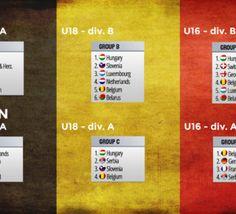 Championnats d'Europe et du monde: les présélections des équipes de jeunes