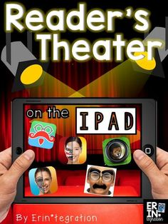 Free apps & ideas for enhancing reader's theater by using iPads. So many fun ways to breathe life into a tried and true method for practicing fluency! For example, have students use free selfie mask apps then hold up their iPads when reading their lines!