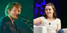 'Game of Thrones' casts Ed Sheeran 'cause everyone loves Arya - CNET Ed Sheeran will guest star in the upcoming season 7 of Game of Thrones because the shows creators wanted to treat Maisie Williams a fan of his. Getty Images Ed Sheeran is coming to Game of Thrones because even the shows creators love Arya best. Game of Thrones showrunners David Benioff and D.B. Weiss said they had been trying trying to book the English singer-songwriter as a guest star for years to surprise Maisie Williams…