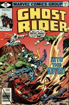 Cover for Ghost Rider (Marvel, 1973 series) #39 December 1979