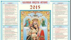 CALENDAR ORTODOX 2015: RomaniaTV.net vă prezintă când pică Paştele, Crăciunul, Rusaliile şi când vor fi zilele libere. stabilite prin Codul Muncii, anul viitor.