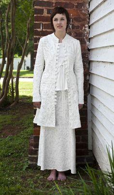 Alabama Chanin - Anna's Swing Coat.  Love this!