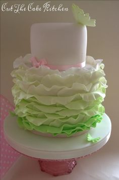 Spring Frills - Cake by Cut The Cake Kitchen