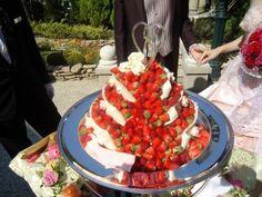 いちごウェディングケーキ