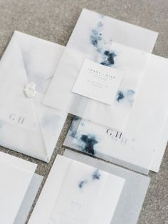 Celestial inspired wedding invitations