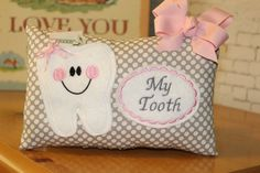 Hey, I found this really awesome Etsy listing at https://www.etsy.com/listing/448683440/girls-tooth-fairy-pillow-personalized