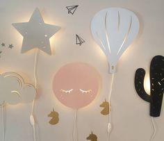 Beautiful DIY A Night Lamp Ideas 02 bohemiankids Baby Room Diy, Baby Room Decor, Nursery Room, Kids Bedroom, Bedroom Decor, Nursery Decor, Diy Baby, Baby Bedroom, Anniversaire Hello Kitty