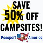 Passport America, The Original Discount Camping Club, offering discounts at nearly 1600 quality campgrounds in the U. Camping In Maine, Camping Club, Camping Resort, Rv Camping, Camping Places, Camping Stuff, Camper Trailer For Sale, Pickup Camper, Camper Trailers