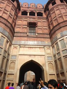 Exotic And Unique Places To Travel: The Agra Fort,Agra,India