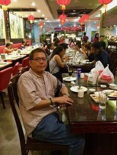 Aladino Nibley ( Picture taken in Hap Chan restaurant Aladino's Birthday January 1, 2017 )