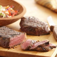 This steak is seasoned to perfection with the tasty combination of Grill Mates Montreal Steak Seasoning, orange juice, soy sauce, honey and ginger.