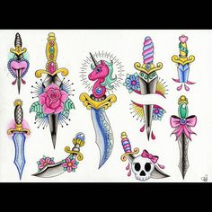 Here's another flash sheet I did a few weeks ago. I think this was my second…