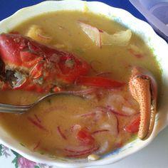 Espere una hora hasta que este mi sopita de cangrejo de 3 dólares #huecasproximaparada #elpaisdelaabundancia #Ecuador
