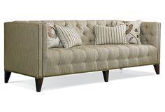 "Venetta 87"" Sofa on OneKingsLane.com LOVE this style"