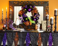 """Make a macabre mantel just because it's fun to say """"macabre"""""""
