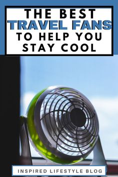 Are you looking for ways to stay cool this summer? I'm sharing the best travel fans that are easily portable and great to bring with you on vacation! Carry On Bag Essentials, Travel Essentials, Packing Tips For Vacation, Stay Cool, New City, What To Pack, Lifestyle Blog, Good Things, Fans