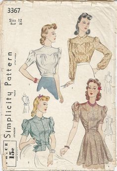 Simplicity 3367   Renée And The Cat's Meow: New Sewing Pattern Acquisitions
