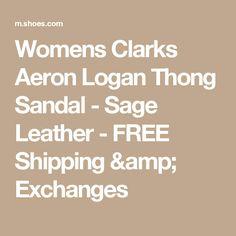 853196dfa Clarks Aeron Logan Thong Sandal