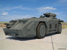 'APC' (Armored Personnel Carrier) from 'Alien'