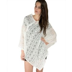 Lite Weight Knit Comfy Poncho