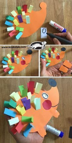 Kids Crafts, Animal Crafts For Kids, Daycare Crafts, Classroom Crafts, Craft Activities For Kids, Toddler Crafts, Preschool Activities, Art For Kids, Spanish Activities