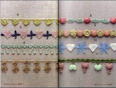 SOLO PUNTOS: bordes al crochet