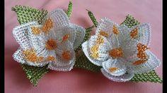 Tespih Başlığı İğne oyası Nilüfer Çiçeği