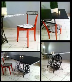 Fan of decoration and recycling, I like to give a second life to objects and furniture of all kinds. Some ideas and originality and that is how you could have at home a unique and personalized decor with little expense. #Chair, #Headboard, #Recycled, #Stool #RecycledFurniture