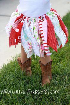Fairy skirt using material scraps - DO IT!