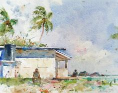 charles reid watercolor figures - Google Search