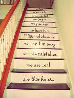 Cute Staircase Idea