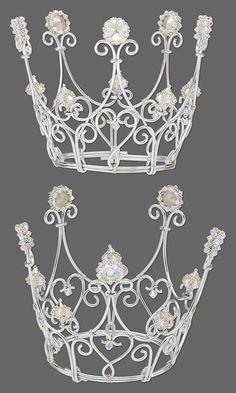 coronas de alambre