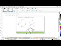 CorelDRAW X8 Tutorial |  019 Creating a basic shape