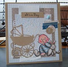 made by Alina: Babykaartjes