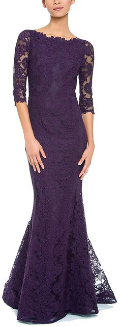 Rongstore Women's Half Sleeve Lace Mother of the Bride Dress Formal Evening Gowns ** Trust me, this is great! Click the image. : Mother of the Bride