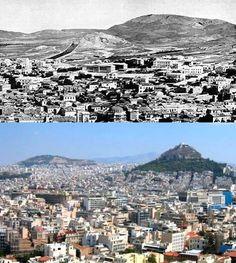 Confira 27 imagens impressionantes de cidades antes e depois - Mega Curioso