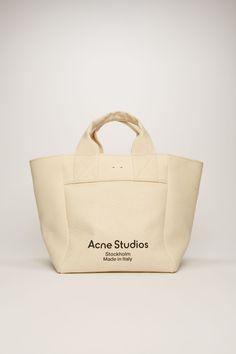 Acne Studios, Mens Tote Bag, Marketing Direct, Large Canvas Tote Bags, Photography Bags, White Tote Bag, Medium Tote, Best Bags, Tela