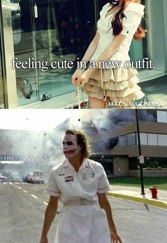 just a girl thing parody outfit joker