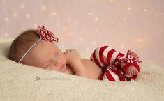 Newborn christmas photo to cute!