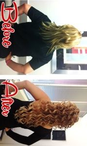 Want long, luscious, hair with volume and don't want to wait?  Get HAIR EXTENSIONS done by students at our beauty school in North Austin.  See more photos and check out all of the salon services provided at www.Facebook.com/BellaBeautyCollege