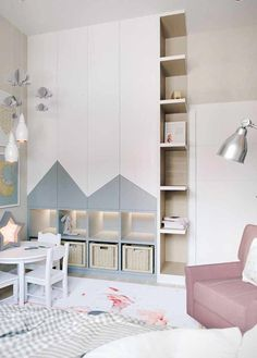 45 Creative Kids Bedroom Design Ideas With Fresh Theme - Your kid is a special human being to you and therefore you should ensure that your kids bedroom designs are also that much special. We all adore our k. Kids Bedroom Designs, Baby Room Design, Home Room Design, Baby Room Decor, Wardrobe Design Bedroom, Baby Boy Rooms, Boy Toddler Bedroom, Girl Room, Barn
